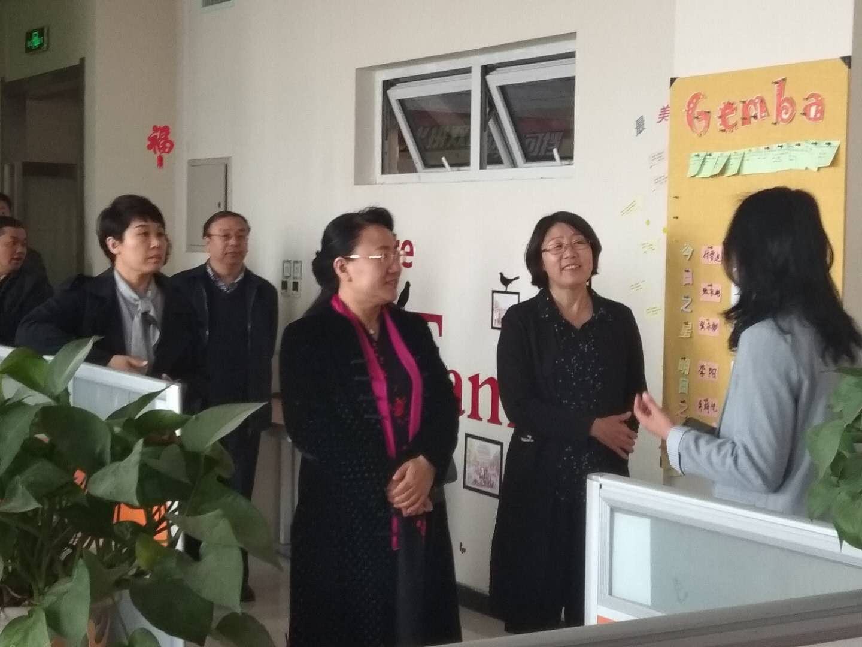 杨伟坤副市长等领导一行到河软电商产业园调研